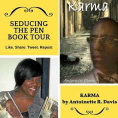 KARMA by Antoinette R. Davis. Contemporary #Fiction #Mystery #Thriller & #Suspense   Elston is independent successful and enjoying the fruits of his labor until a night out celebrating with the boys and a little too much to drink turns his perfect world into a nightmare he cant seem to wake up from.  Elston becomes torn between doing what is right and facing the consequences or hiding behind a lie and thats when Brenda Vander a total stranger appears out of the darkness into Elstons life to…