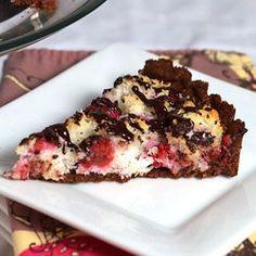 Chocolate Raspberry Macaroon...