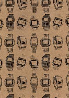 Graphic Design - Pattern Design - Casio watches by Suzie Winsor Pattern Design : – Picture : – Description Casio watches by Suzie Winsor -Read More – Surface Pattern, Pattern Art, Surface Design, Pattern Design, Pretty Patterns, Beautiful Patterns, Color Patterns, Textiles, Textile Patterns