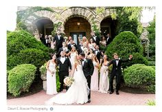 Patrick Haley Mansion Wedding - Dawn E Roscoe Photography / Wedding dress by Hayley Paige
