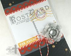 Vintage Postcard stamp set (SSS28)