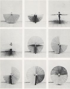 Mechanischer Körperfächer (body fan 2) - rebecca horn #experimentsinmotion