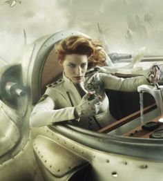 gdfalksen: Pulptastic. - Steampunk girls - cleared for take off..