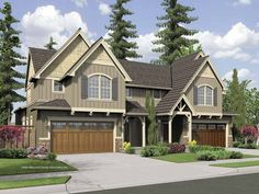 Eplans Craftsman House Plan - Three Bedroom Craftsman - 1771 Square Feet and 3 Bedrooms from Eplans - House Plan Code HWEPL65892