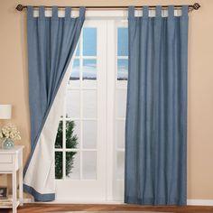 Energy Saving Tab Top Curtain Panels
