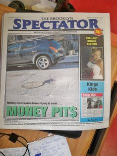 this was the first ever photo I took that made it to the cover of a newspaper, January 2011 for the Brooklyn Spectator :) <3