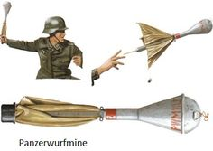 Panzerwurfmine.