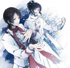 Yamatonokami et Kashuu