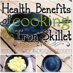 The Health Benefits of Cooking with an Cast Iron Skillet - The Homestead survival - Homesteading Cooking