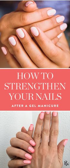 5 Things You Should Do to Strengthen Your Nails After Every Gel Manicure via @PureWow