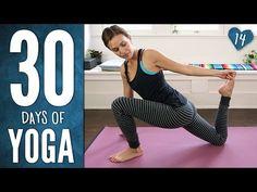 Day 14 - Mindful Hatha Yoga Workout - 30 Days of Yoga - YouTube