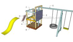 Outdoor playset plans   HowToSpecialist - How to Build, Step by Step DIY Plans