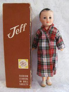 Reproduction 1950/'s Vogue JEFF doll BROCHURE// Leaflet
