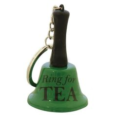 This cute Ring for Tea Keyring makes a fun little tea gift for tea lovers. Attach it to your keys & give it a ring when you fancy a cuppa on the go.