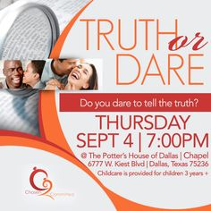 Join the Marriage Ministry at this amazing event