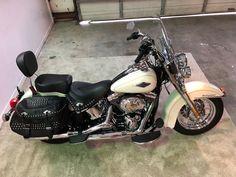 eBay: 2014 Harley-Davidson Softail 2014 HARLEY DAVIDSON HERITAGE SOFTAIL CLASSIC #harleydavidson