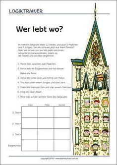 Der Logiktrainer ist ein Rätselspaß für Kinder, der ihnen hilft, logisches Denken und Kombinatorik zu entwickeln, als auch gleichzeitig die Aufmerksamkeit, Konzentration und Lesekompetenz von Kinder in der Grundschule zu verbessern.
