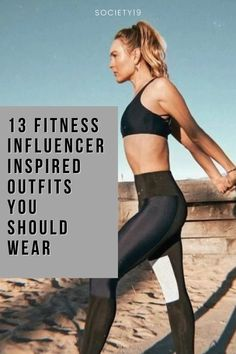 Fitness Influencer, 13 Fitness Influencer Inspired Outfits You Should Wear Neon Shorts, Cute Sports Bra, All Black Looks, Stay In Shape, Tan Skin, Inspired Outfits, Skin Tight, Gym Wear, Comfortable Outfits