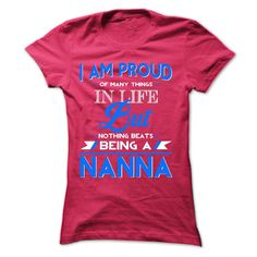 Proud Nanna T-Shirts, Hoodies, Sweaters