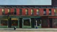 Early Sunday Morning by Edward Hopper   Art Posters