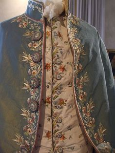 Close up of 1700's Mens Clothing by TravelPod Member Aussiewanderers