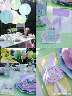 Kid's Easter Egg Hunt Party Ideas by Bird's Party