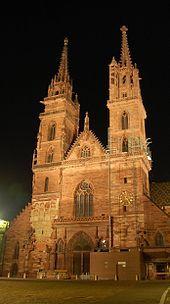 Basel, Switzerland: Basler Münster