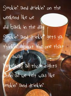 Smokin' and Drinkin' ~ Miranda Lambert feat. Little Big Town
