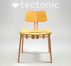 Ergonomic Plywood Chair on Industrial Design Served