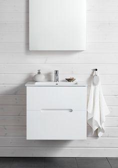 SUN COMPACT 600 M TVÄTTSTÄLLSSKÅP VIT EKSTRUKTUR - Hafa badrum Bathroom Vanity Cabinets, Compact, Decor Ideas, Architecture, Bathroom Cabinets, Arquitetura, Architecture Illustrations, Architecture Design
