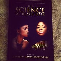 Reading time • The Science of Black Hair • love this book  #hairjourney #relaxedhair  #thescienceofblackhair  Pin now read later!
