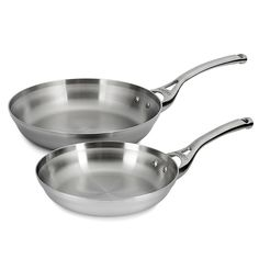 Calphalon Contemporary Stainless 8 and 10 Inch Fry Pan Set *** Find out more about the great product at the image link.