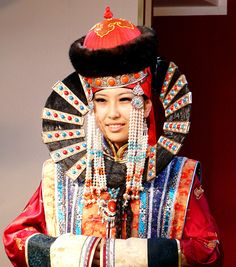 Costume traditionnel mongol