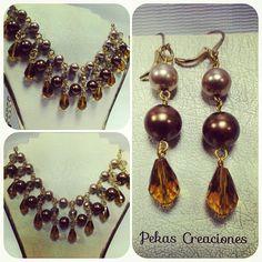 Coleccion Pekas Creaciones! #pekascreaciones #peru #bisuteriafina #bijuteriasfinas #jewerlymaking #jewerlydesign #manualidades #instabisuteriafina #joyas #doityouself #hazlotumismo #murano #perlas #gold #ilovegold #instabeauty #jewelry #moda #chic #cadenas #creatividad #cristal #aretes #collar #collares #instanecklace #necklace #like4like