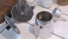 caffettiera moka pulizia caldaia filtro colino