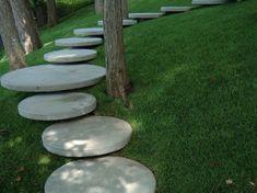 original diseño de escaleras de jardín