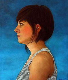 Clara huile sur toile/ cm/ Oil on canvas/ inches 2011