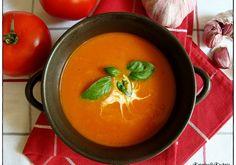 ZUPA KREM Z POMIDORÓW Thai Red Curry, Ethnic Recipes, Food, Polish Recipes, Meals