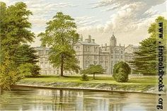 Wilton House, from Picturesque Views of Seats of the Noblemen and Gentlemen of Great Britain and Ireland, by Morris, F. O.