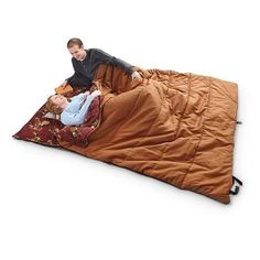 Guide Gear Legacy 20 Degree F Double Sleeping Bag