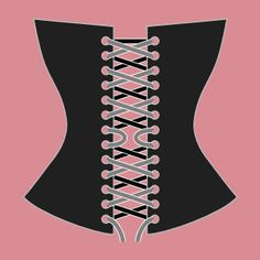 How to lace a corset (I tried this and was actually able to get my corset on by myself--huzzah!)