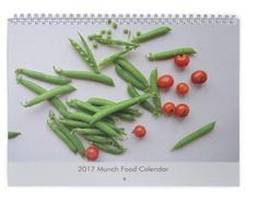 Our annual Munch Food Calendar is here. Get your 2018 Munch Food Calendar now. Our calendar thi Food Calendar, Calendar 2017, Cool Kitchens, Green Beans, Lunch Box, Vegetables, Beautiful, Products, Calendar For 2017