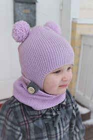 vauvan myssy Baby Hats Knitting, Crochet Baby Hats, Baby Knitting Patterns, Knitted Hats, Knit Crochet, Drops Baby, Kids Hats, Toddler Outfits, Winter Hats
