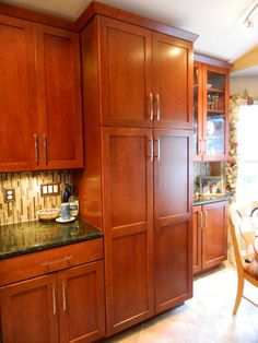 Kitchen cabinets and pantry - Myler http://www.thekitchensofsk.com/myler.html