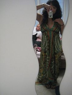 A great steal at Ross ($15), the strap to this halter maxi dress was missing so I asked for a discount. I got 10% off and I sew the strap back on when I got home easy. I just need to buy a bra pad for support. Hoping to wear this to Teatro Zinzanni.