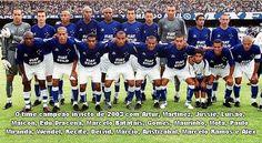 Cruzeiro Esporte Clube - Campeão Brasileiro e da Copa do Brasil 2003