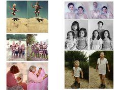 ideas para decorar con fotos familiares divertidas