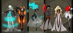 District 3 Fashion by =CdCblanc on deviantART