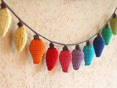 Christmas is almost here, and what better way to get in the holiday spirit than crocheting your own ornaments! This week you'll learn how to crochet these fun rainbow Christmas lights. If...