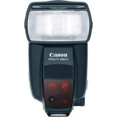 Canon 580EXII. Great flash, but has radio issues with the pocket wizards... $474